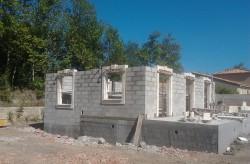 Elévation de murs